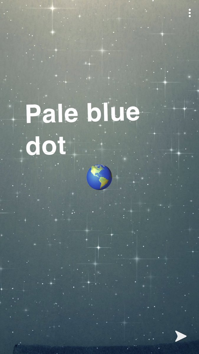 #pale #blue #dot