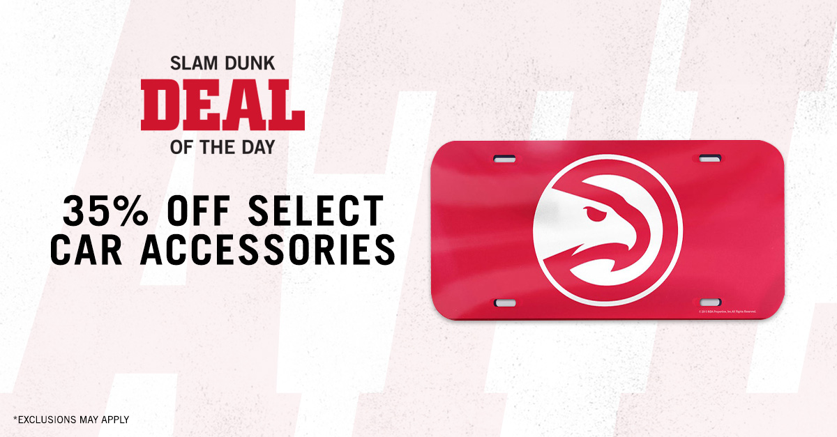 Today's Slam Dunk Deal of the Day is 35% off select car accessories!  🚗: http://bit.ly/2KI9Ww7
