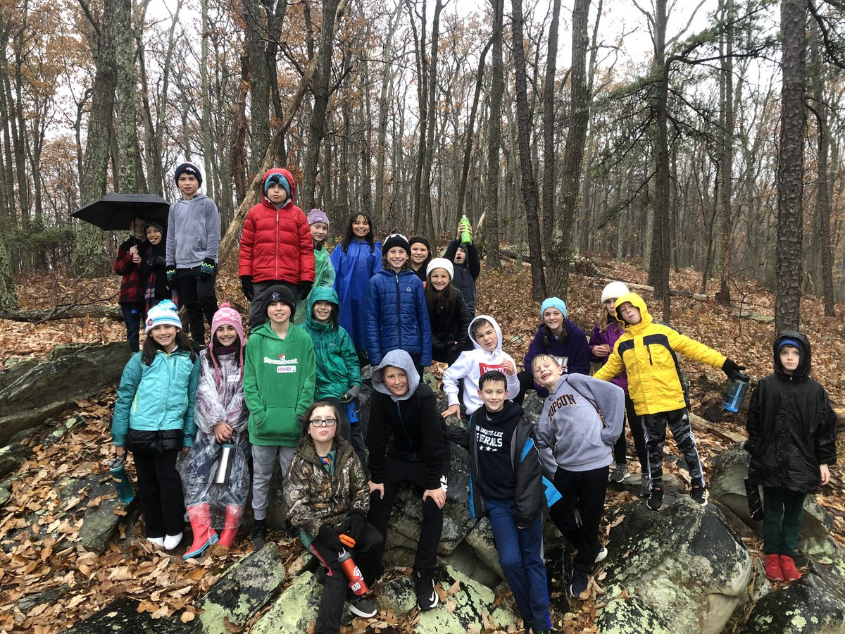 Despite the rain we enjoyed our morning hike! <a target='_blank' href='http://twitter.com/APSMcKCardinals'>@APSMcKCardinals</a> <a target='_blank' href='http://twitter.com/TheOutdoorLab'>@TheOutdoorLab</a> <a target='_blank' href='http://search.twitter.com/search?q=lovetheODL'><a target='_blank' href='https://twitter.com/hashtag/lovetheODL?src=hash'>#lovetheODL</a></a> <a target='_blank' href='https://t.co/yCoET14qqv'>https://t.co/yCoET14qqv</a>