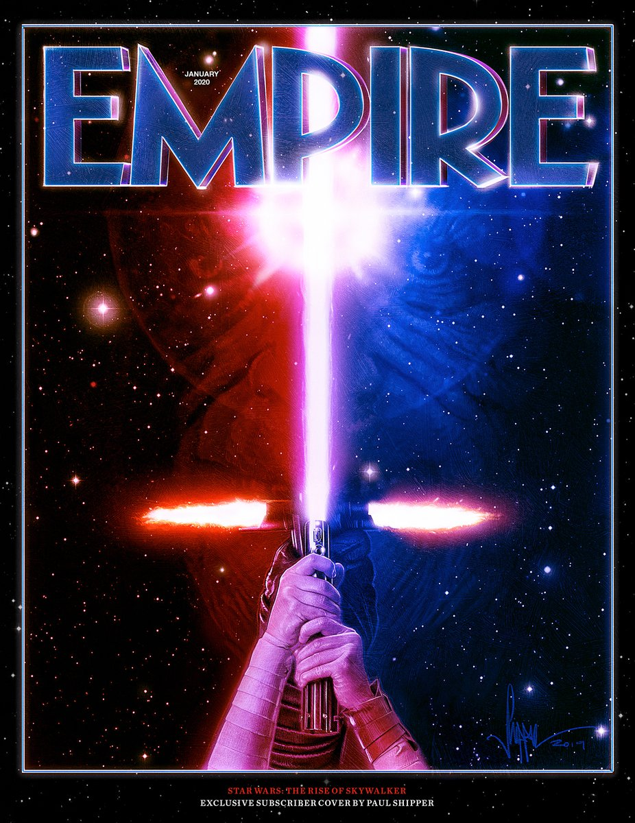 @starwars @StarWarsUK @RoryKurtz And finally, this month's stunning subscriber cover is an exclusive original illustration by @paulshipper. May the force be with you, always. READ MORE: empireonline.com/movies/news/em…