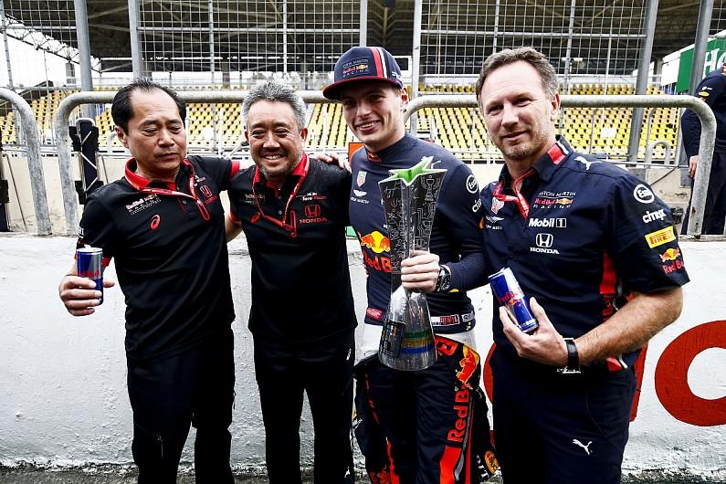 🏎️ Horner: Brazil win important to keep Honda in Formula 1 post-2020  #f1worldmagazine #f1