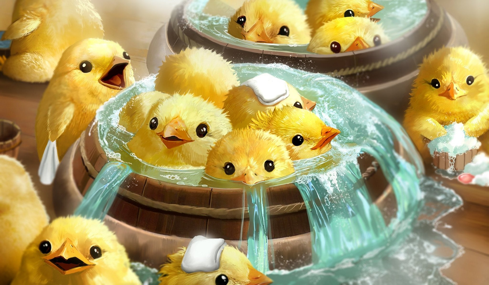 Ramon On Twitter ōtori Sama Bath Spirited Away Sen To Chihiro No Kamikakushi Fanart Magdalenakatanska Illustration