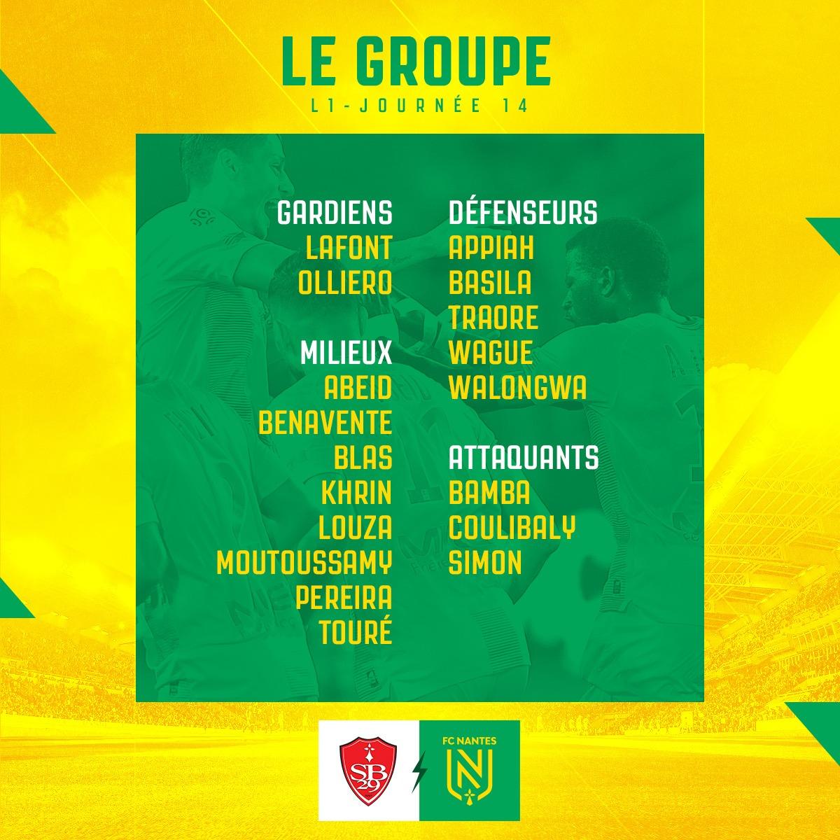 Le Stade Brestois l'emporte contre le FC Nantes (1-0) en match amical