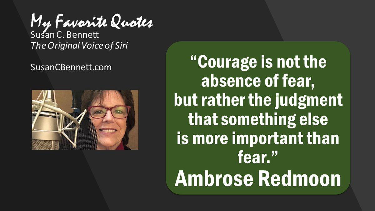 #FridayThoughts #Courage #UseYourVoice #VO #VoiceOver #VoiceActor #Keynote #Speaker #Speaking #EventProfs #MeetingProfs Website: http://SusanCBennett.com #Podcast: http://Jones.Show