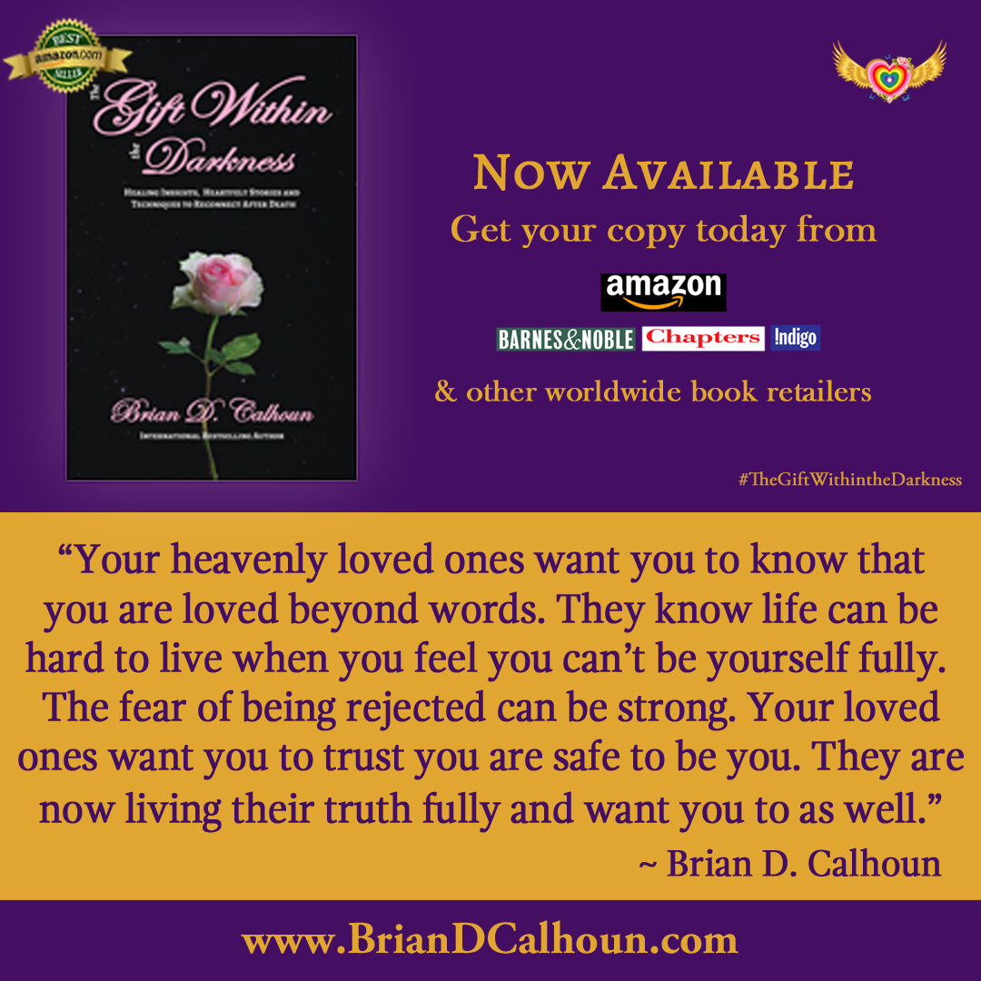 """You can find messages from your heavenly loved ones just like this one below in my bestselling book, """"The Gift Within the Darkness"""". Get your copy today if you haven't yet! http://amzn.to/2xru41I  #heaven #TheGiftWithintheDarkness"""