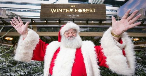Take the kids to have a selfie with Santa tomorrow FREE in the City. ow.ly/w3d530pVzZL