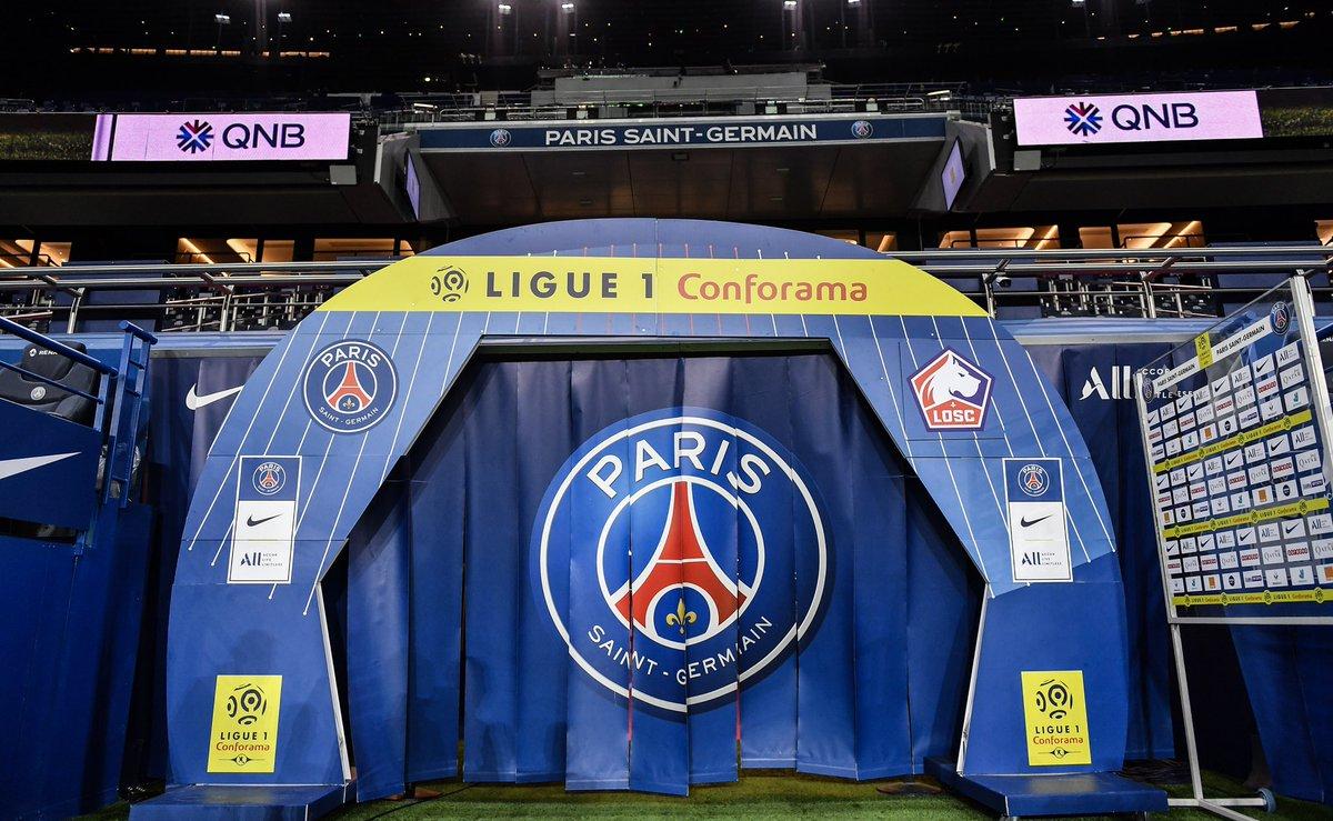 Les compos de PSG-Lille