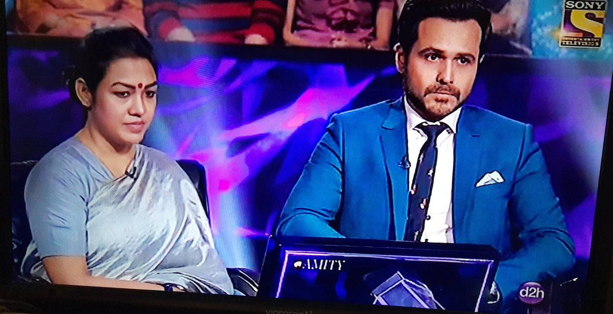 @emraanhashmi it was my dream to see u on #KBC n finally it has came true  So happy to see u on #KBC11 <br>http://pic.twitter.com/c2Hh9vt3wK