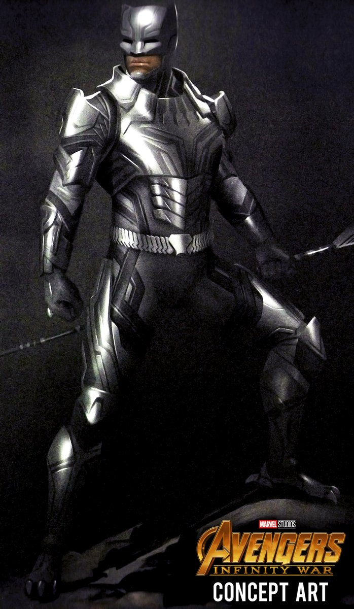 Official unused AVENGERS: INFINITY WAR concept art showcase alternate Wakandan armor designs for the film! See more art here: bit.ly/37ryX8H