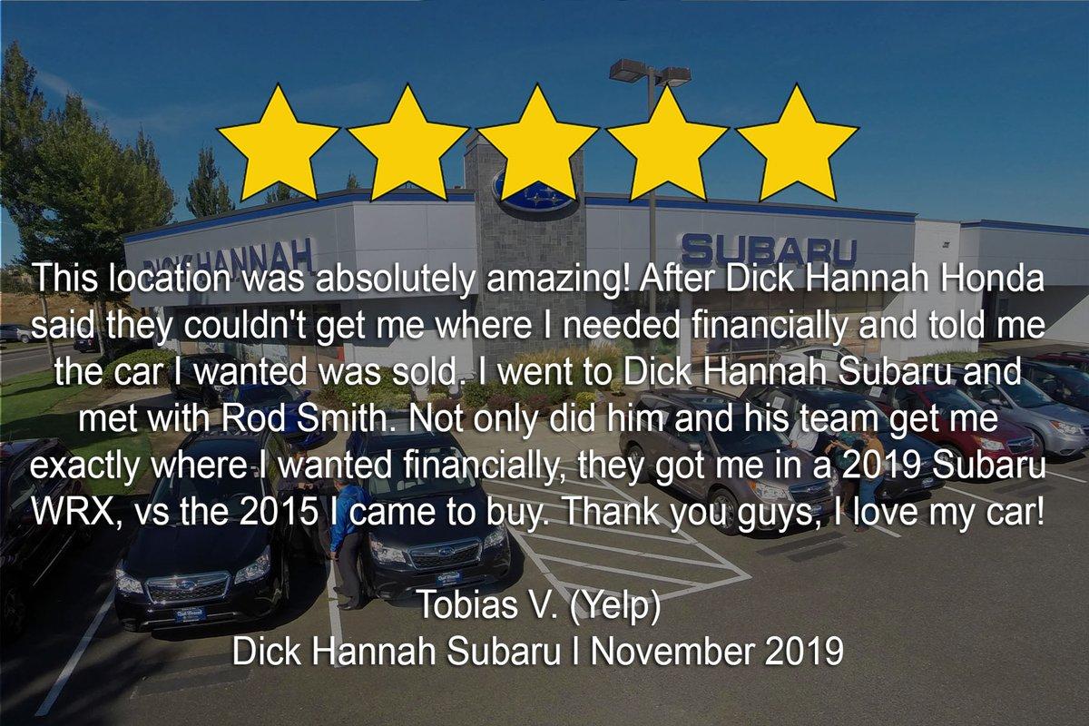 Dick Hannah Subaru >> Dick Hannah Subaru Hannahsubaru Twitter