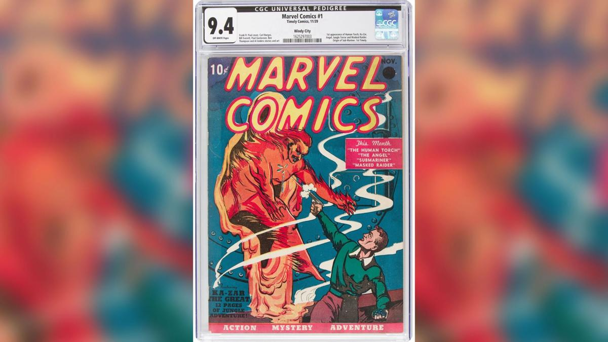 A Marvel comic book just sold for a record $126 million - Top Tweets Photo