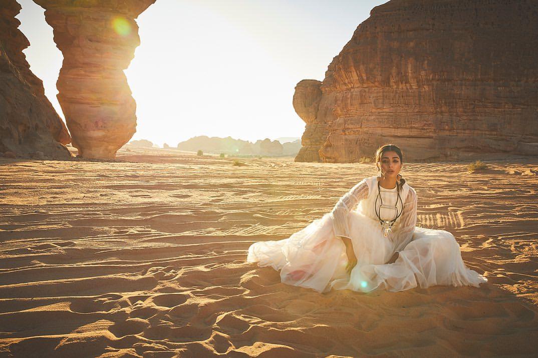 Nov. cover for #travelandleisureindia Producer #andrilamitra  Photographer @RohanShrestha Assist Photographers @sheldonsantos @homyar7 Stylist @divyakdsouza Assist Stylist #riddhivartak Hair @akgun_manisali Makeup #SavleenManchanda Location @WinterAtTantora , @ExperienceAlUla