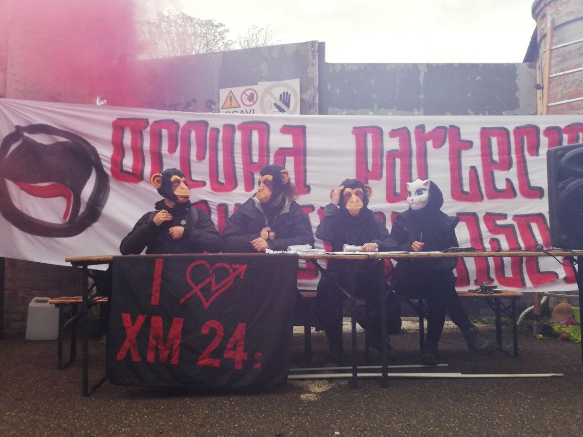 Fight back aganist @LegaSalvini. Today #xm24nellospazio a new #antifascist space in  #Bologna #bolognanonsilega <br>http://pic.twitter.com/7nFyZtD6OG