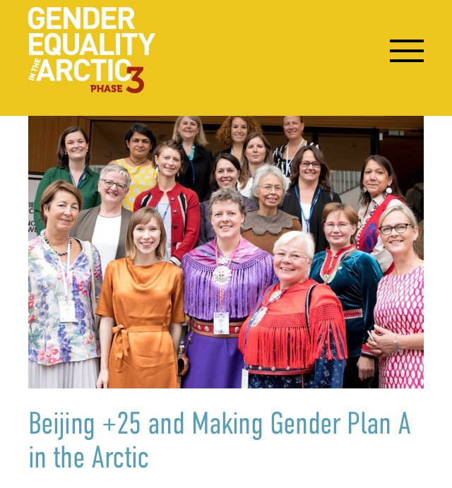Delighted to be part of the #WomenoftheArctic collective @PlanArctic that's focused on making Gender Plan A in the Arctic: Kudos to @GenderArctic for including #WoA in the launch of its first #GEA Times newsletter on #gender #equality in the #Arctic