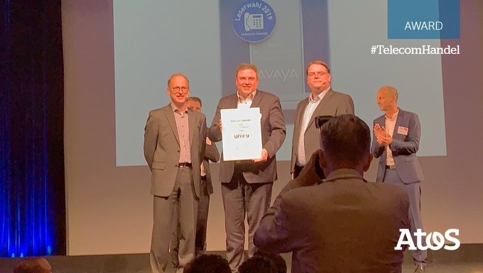 Congratulations to our German @UnifyCo team awarded at @TelecomHandel, reader's choice #award...