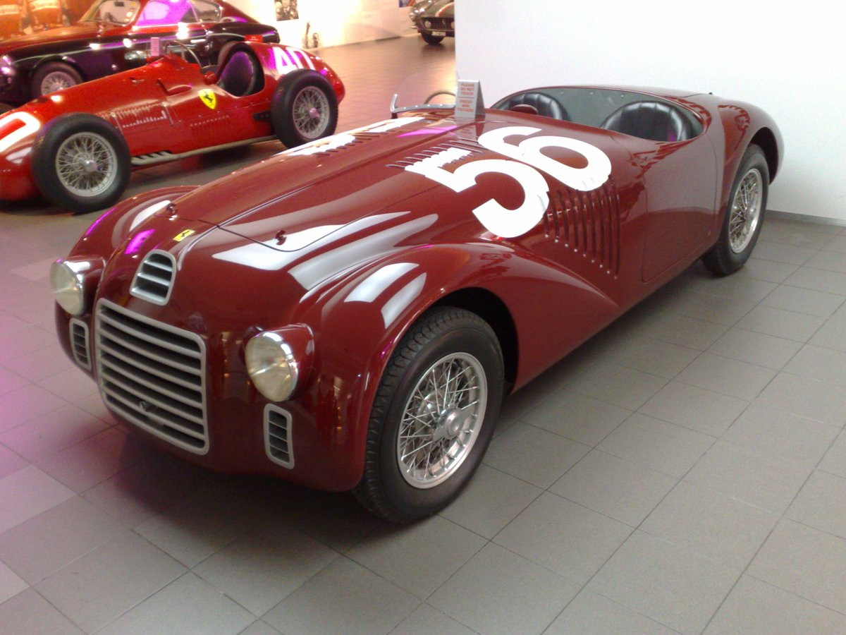 Jens Munser Designs On Twitter Rosso Barchetta Is The Deep Red Color Used On The First Ferrari Road Car The 1947 Type 125 S