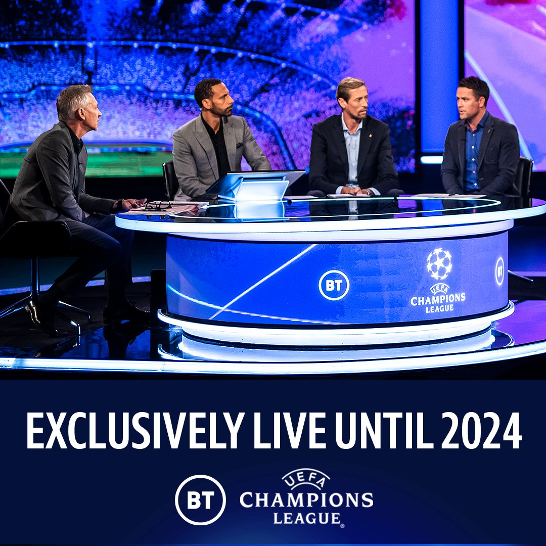 BT Sport to remain exclusive home of @ChampionsLeague and @EuropaLeague after agreeing new broadcast partnership. • 420 live matches every year for three seasons • Every game live on TV and BT Sport App • Includes new Europa Conference League More ➡️ po.st/UCLxBT2024