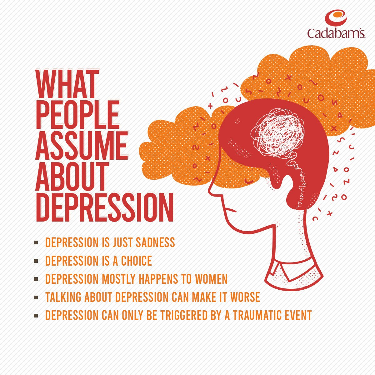 Are you tired of hearing them too?😞  One in 20 Indians suffer from some form of depression; educating ourselves is the first step in working towards a solution. #depression #depressionhelp #depressionawareness #mentalhealthcounseling #mentalhealth #mentalhealthadvocacy