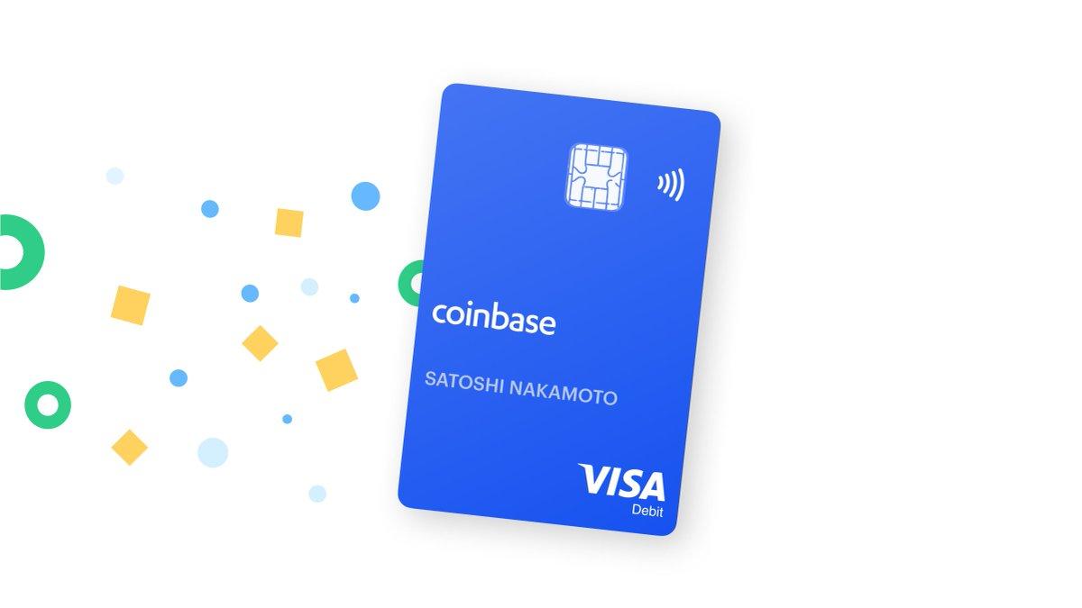 bitcoin card de debit coinbase)