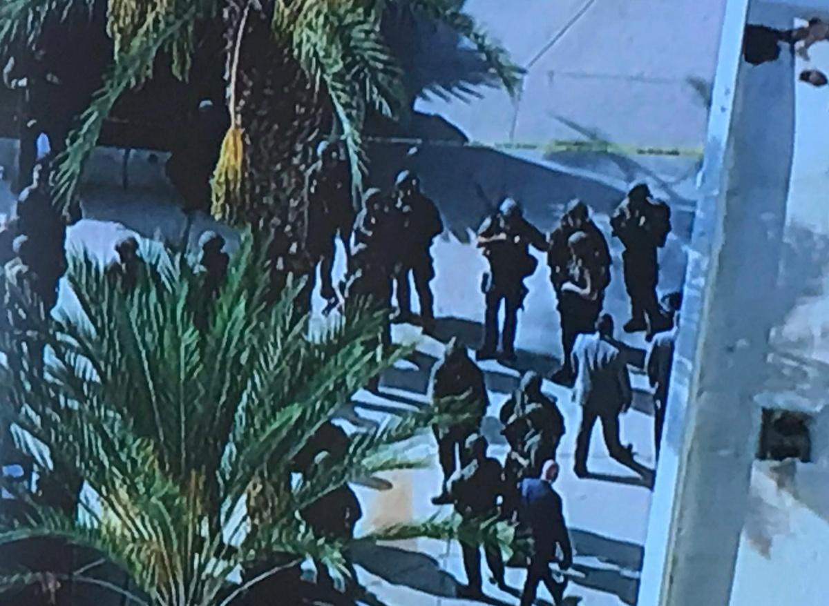 Police look for motive behind California school shooting Just 16 seconds passed from the time a California high school student pulled a .45 semi-automatic pistol from his backpack in an outdoor school courtyard and emptied the weapon, kil...  http:// twib.in/l/yMad4qrGxzrb     #USNews #USRC <br>http://pic.twitter.com/7xkAFo9jFv