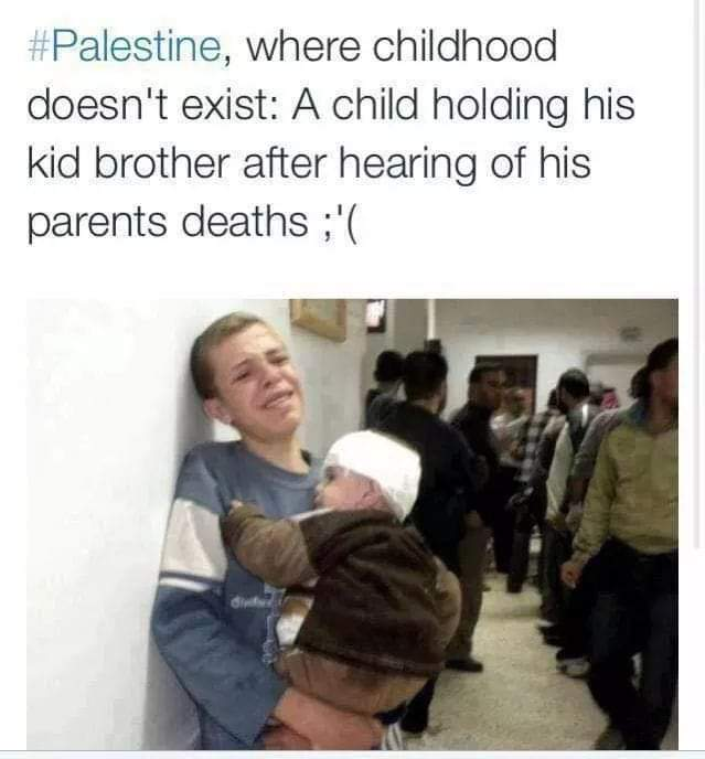 Imagine if this was you. Your children. How much hate and greed can make any one kill.....