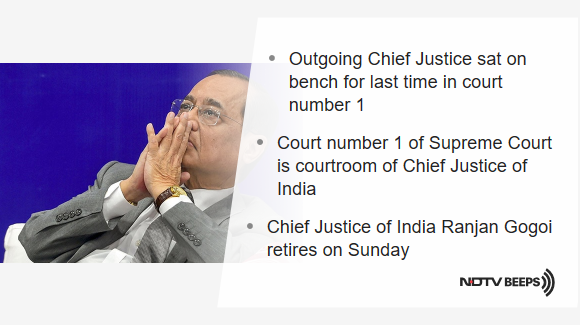 """""""Bitter Truths Must Remain In Memory"""": Chief Justice On Interviews https://www.ndtv.com/india-news/outgoing-chief-justice-of-india-ranjan-gogoi-on-why-he-cant-give-media-interviews-2132979… #NDTVNewsBeeps"""