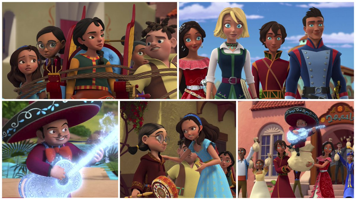 Who you gonna call? Team Isa! When Team Avalor is taken out by a pint sized bandit with a magic guitar Isa discovers that there is more than one way to lead and rallies her own team to save the day. We loved this cute episode and its great message!  #elenaofavalor<br>http://pic.twitter.com/7zwitWByPU