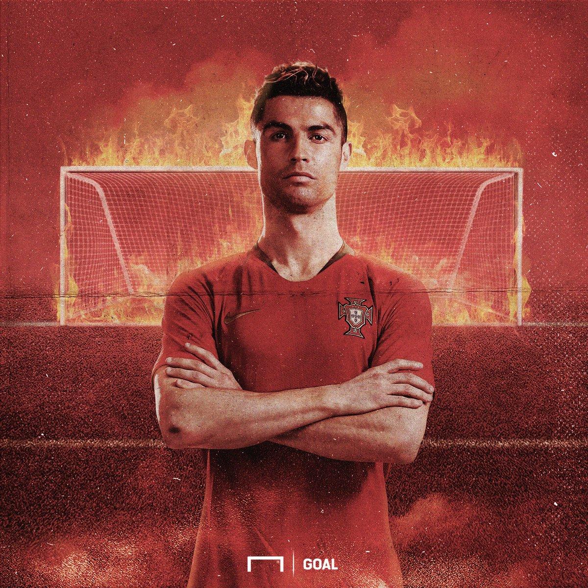 Ali Daei (109)  Cristiano Ronaldo (98)  Ferenc Puskas (84)  CR7 is three goals closer to that top-scoring international record <br>http://pic.twitter.com/Ile08vVTmA