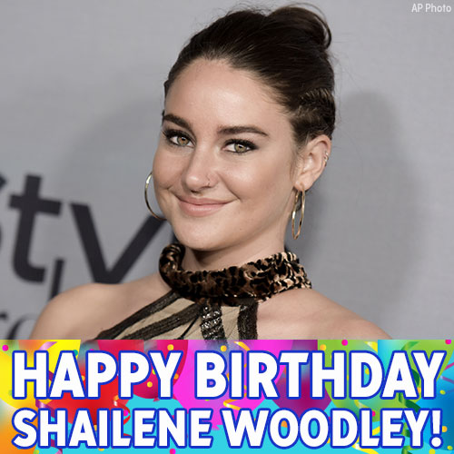 Happy Birthday, Shailene Woodley! The Divergent and The Fault in Our Stars actress is celebrating today.