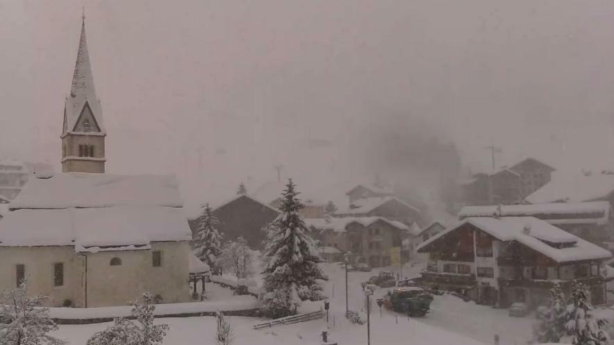 Il limite della neve si alza a 1500 metri, piogge ...