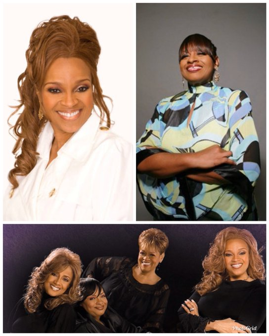 Happy Birthday to sisters Karen Clark Sheard & Twinkie Clark of the gospel group The Clark Sisters!