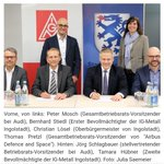 Image for the Tweet beginning: #Gemeinsam sich für die #Arbeitsplätze