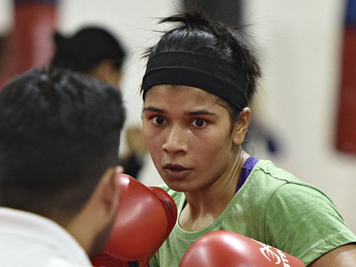 #Boxing #MaryKom #NikhatZareen #IndianBoxingI will never hold a grudge against my 'idol' @MangteC: @nikhat_zareenREAD➡️http://toi.in/D2it3Z75/a24gk