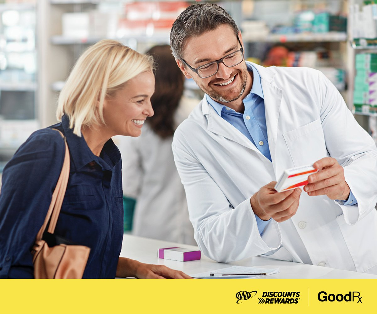 In case you weren't aware: All AAA members save up to 85% on your prescriptions with GoodRx.  Visit  to start saving today! #AAADiscountDownload #GoodRx