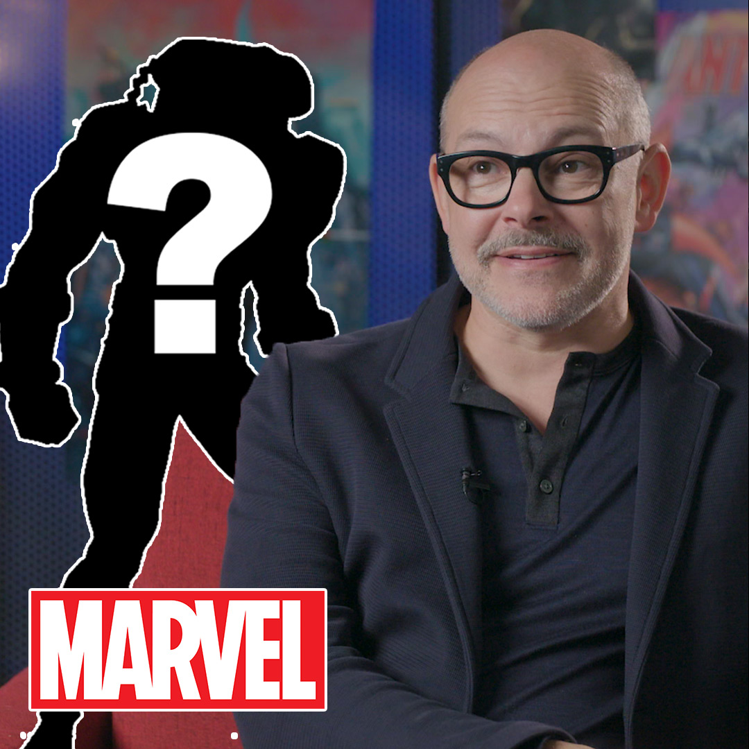 Can YOU guess that Marvel character? @robcorddry tries his best: