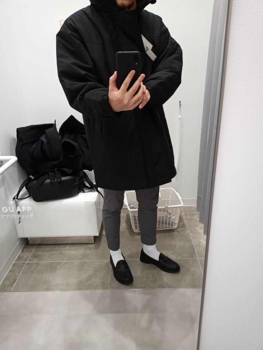 プルーフ ビッグ コート 中綿 ウィンド