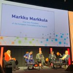 Image for the Tweet beginning: 📢#SmartRegions 3.0. Conference  Markku Markkula, 1st