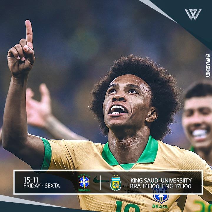 Dia de clássico! Vamos Brasil!!! 🇧🇷⚽️#selecaobrasileira #W19 #vamosbrasil #classico