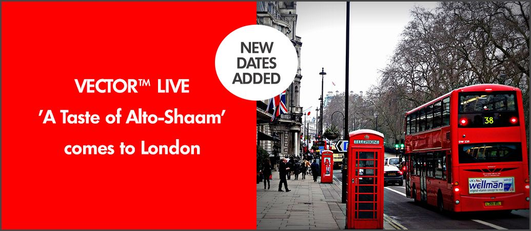 Image for New dates added for VECTOR Live #London. Limited spaces available, don't miss out - book your spot today