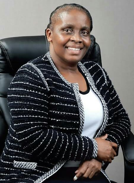 This is Mme Mato Madlala, owner of (PSL Club) Golden Arrows. Shes been PSL Acting CEO since 2015. In the past financial year, PSL raked in R1bn profit under her tutelage. Shes CEO of the richest football league in Africa. Imagine if she was #Eskom or #SAA CEO. #AbsaPrem