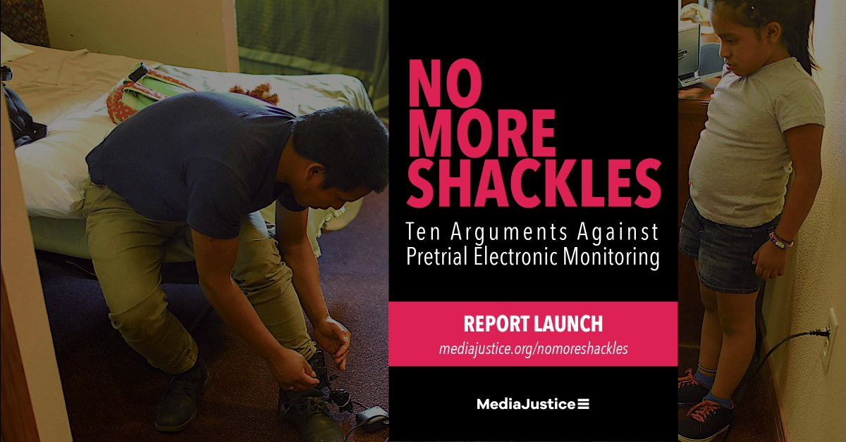 To learn more about why electronic monitoring is an extension of mass incarceration, not an alternative, check out our NEW #NoMoreShackles report! Download your copy today! https://mediajustice.org/nomoreshackles #ColorOfSurveillance #NoDigitalPrisons
