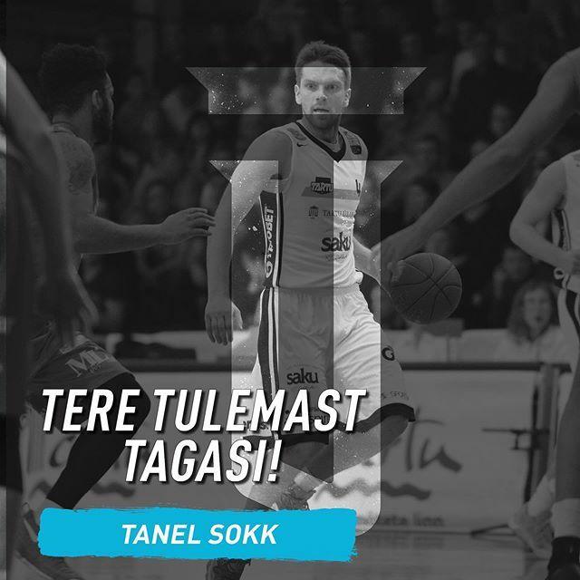 """test Twitter Media - Tere tulemast tagasi, Tanel!  Tartu Ülikooli korvpallimeeskond sai kokkuleppele varemgi Tartu särgis pallinud mängujuhi Tanel Sokuga.  Mängija enda hinnangul oli vaja keskkonna muutust. """"Selle hooaja algus ei ole minu jaoks kõige lihtsamalt sujunud ja tu… https://t.co/6E8tLCGfXC https://t.co/DU2ydUfXnD"""