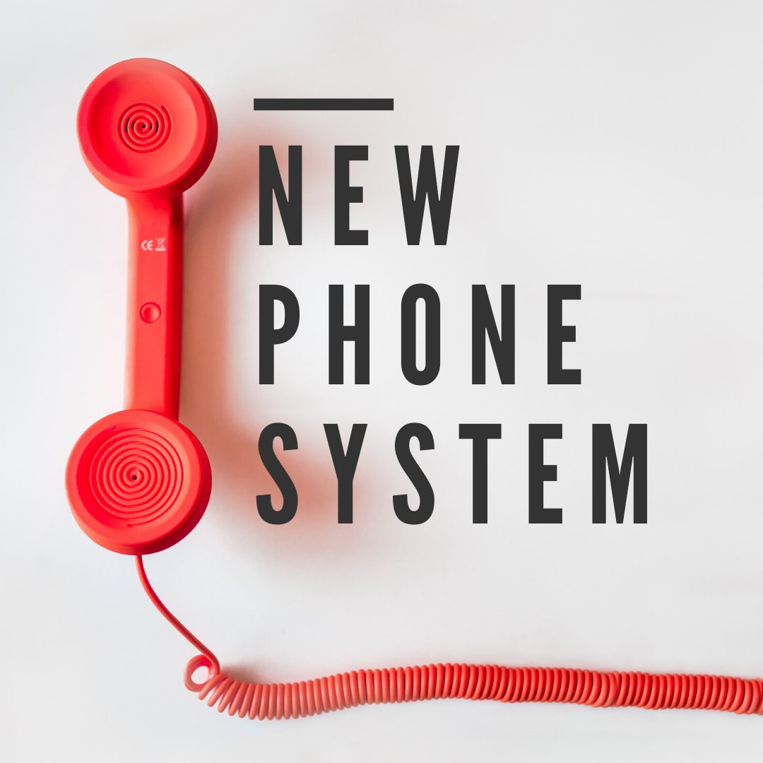 We are excited to announce our offices have a new phone system, thank you for your patience while we transition. #TGREyeCare #NewPhoneSystem #Announcementpic.twitter.com/BIMbrZ3B2q