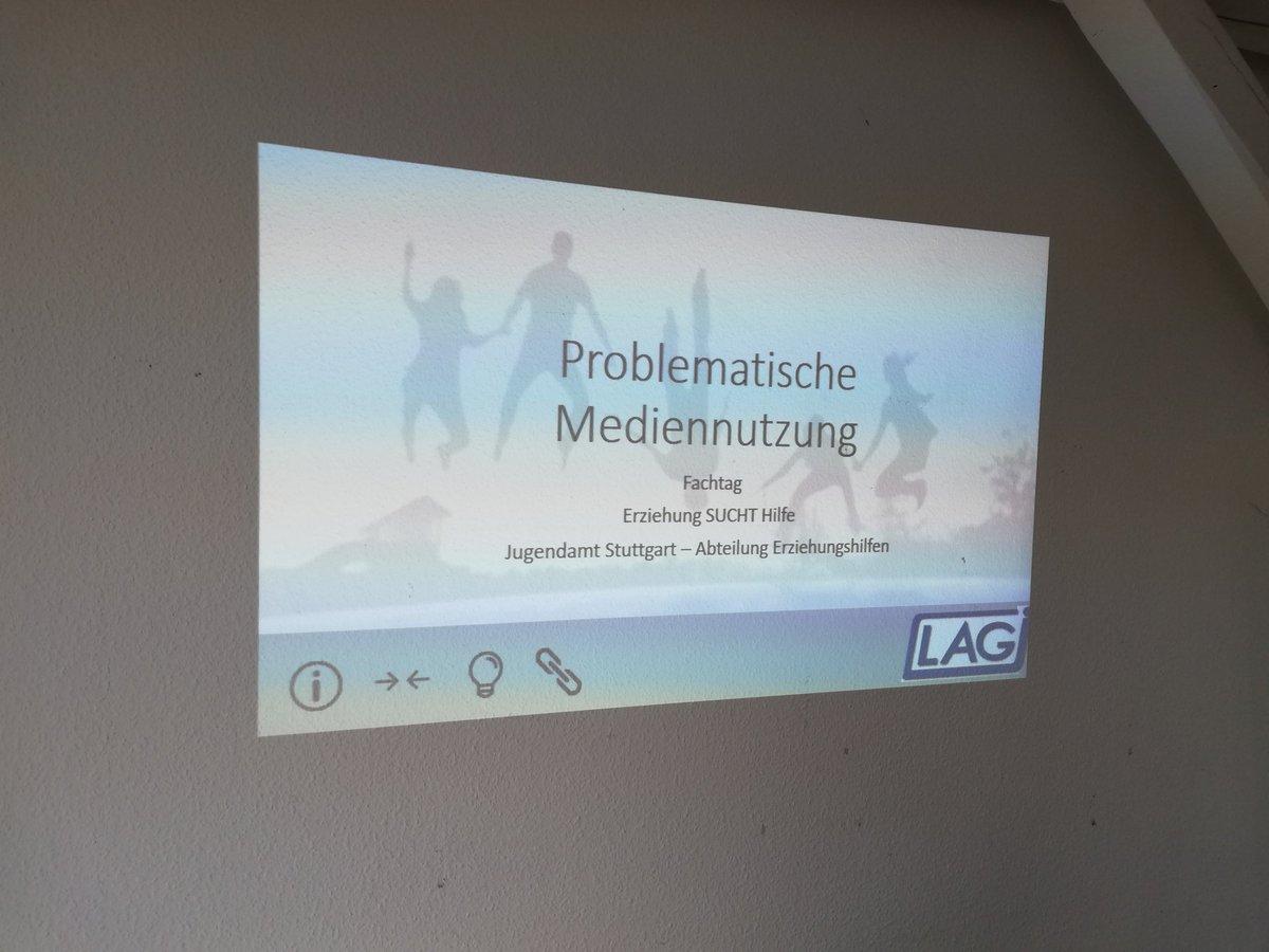 Jetzt schon beim Fachtag vom Jugendamt #Stuttgart. Wir machen einen Workshop zu #Medien #HzE und problematischer Nutzung. #Medienkompetenz #sozialeArbeit #Jugendarbeit