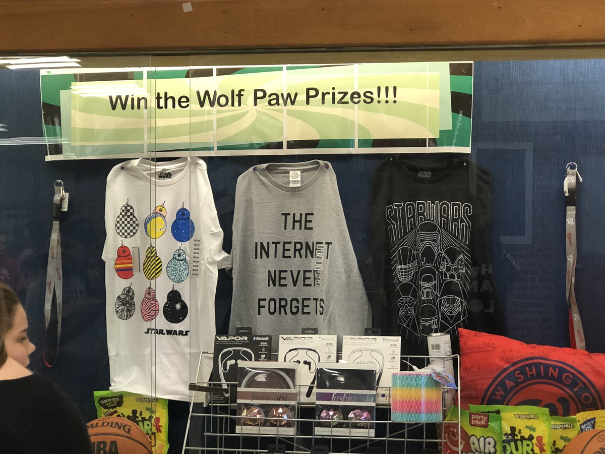 First Quarter Wolf Paw Prizes! <a target='_blank' href='https://t.co/0lttKxRIap'>https://t.co/0lttKxRIap</a>