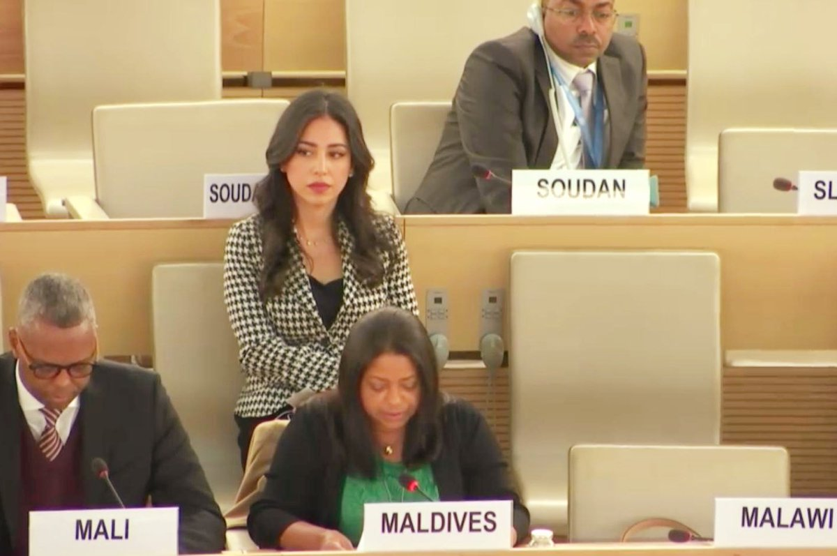 34th Session of the Universal Periodic Review ends, #Maldives delegation actively participated at the session. #UPR34  Press Release  https:// bit.ly/2QigoxL     <br>http://pic.twitter.com/2MGxyxLeWa