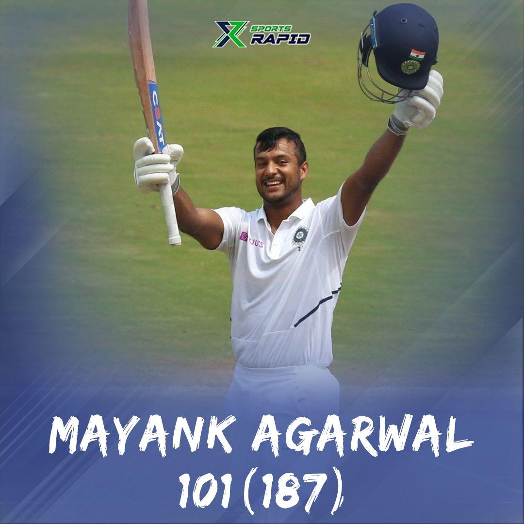 Mayank's century slowly pace India towards victory.#mayankagarwal #rohitsharma #cricket #viratkohli #indvssa #indiancricket #t #cricketlove #msdhoni #teamindia #klrahul #ravindrajadeja