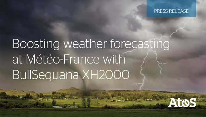 We've signed a new 4 year contract with French national #meteorological service,...