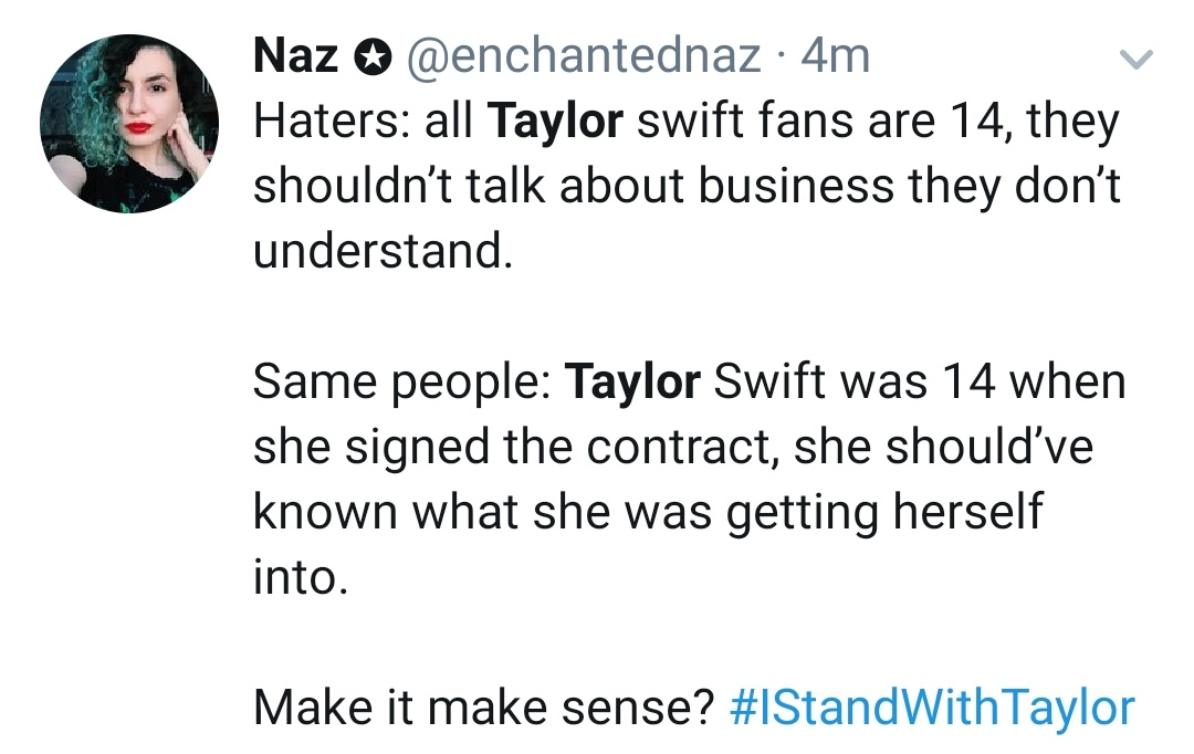 @RealCandaceO @taylorswift13 Hey rat...just take a look at this and rethink what you tweeted #IStandWithTaylor #TaylorSwift @enchantednaz u got a great point