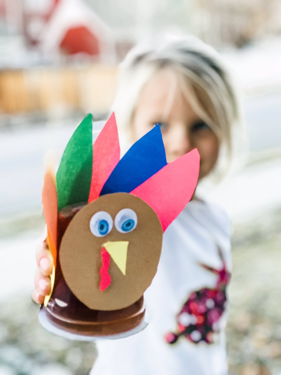 Gobble Gobble    Transform our  #organic juices into colorful Turkey's with just a little construction paper and google eyes (because every cool #kidcrafts needs eyes that wiggle ). #thanksgivingcrafts   #thanksgivingcraftsforkids #thanksgiving #crafts #holidays<br>http://pic.twitter.com/poDVibmkqU